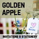 Golden Apple Quirky & Alternative Wedding Invitations & Stationery