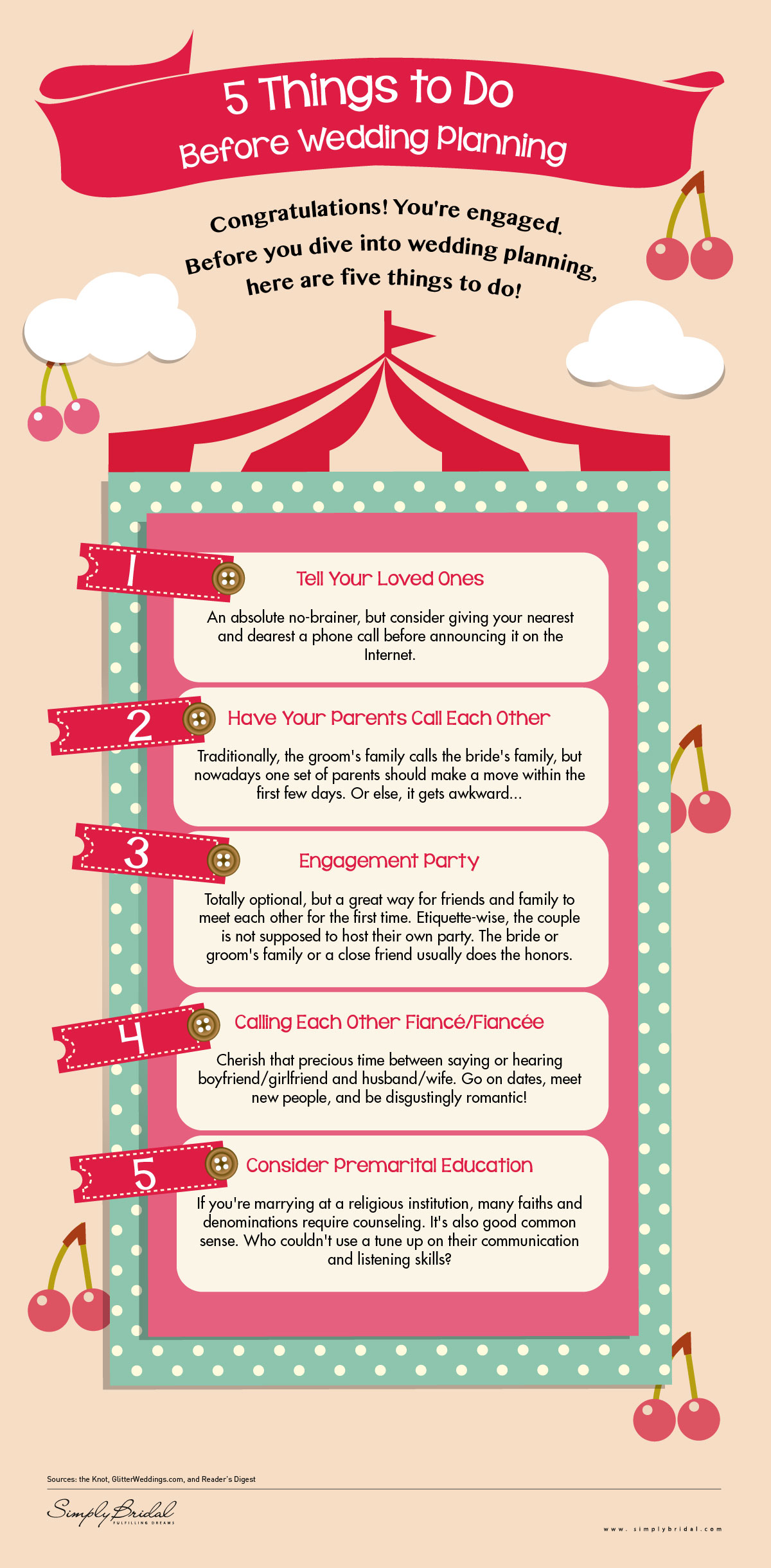 fun facts from simply bridal 5 things to do before wedding